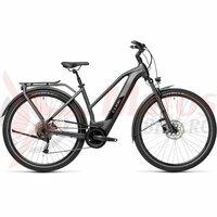 Bicicleta Cube Kathmandu Hybrid One 625 Trapeze Iridium/Black 2021