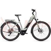 Bicicleta Cube Kathmandu Hybrid Pro 500 Easy Entry Lunar/Grey 2021