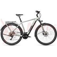 Bicicleta Cube Kathmandu Hybrid Pro 500 Lunar/Grey 2021  Black Blue 2021