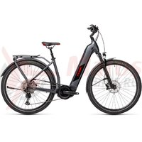Bicicleta Cube Kathmandu Hybrid SL 625 Easy Entry Iridium/Red 2021