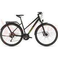 Bicicleta Cube Kathmandu SL Trapeze Black/Green 2020