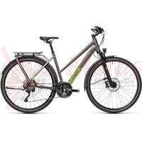 Bicicleta Cube Kathmandu SL Trapeze Teak/Green 2021