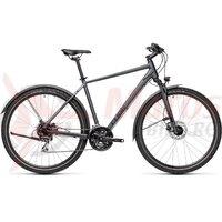 Bicicleta Cube Nature Allroad Iridium/Black 28' 2021