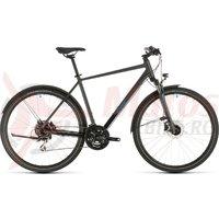 Bicicleta Cube Nature Allroad Iridium/Blue 2020