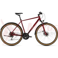 Bicicleta Cube Nature Allroad Red/Grey 2020