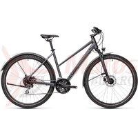 Bicicleta Cube Nature Allroad Trapeze Iridium/Black 28' 2021