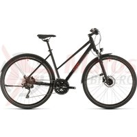 Bicicleta Cube Nature EXC Allroad Trapeze Black/Red 2020