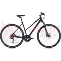 Bicicleta Cube Nature EXC Trapeze Black/Red 2020