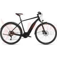 Bicicleta Cube Nature Hybrid EXC 500 Allroad black/red 2020