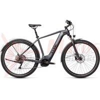 Bicicleta Cube Nature Hybrid EXC 500 Allroad Iridium/Black 2021