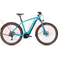 Bicicleta Cube Nature Hybrid EXC 625 Allroad Petrol/Darkblue 2021