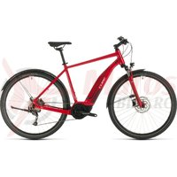 Bicicleta Cube Nature Hybrid One 400 Allroad Red/Red 2020