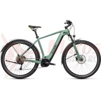 Bicicleta Cube Nature Hybrid One 500 Allroad Green/Sharpgreen 2021
