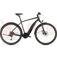 Bicicleta Cube Nature Hybrid One 500 Allroad Iridium/Blue