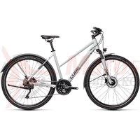 Bicicleta Cube Nature Pro Allroad Trapeze Grey/Iridium 2021