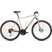Bicicleta Cube Nature Pro Grey/White 2020