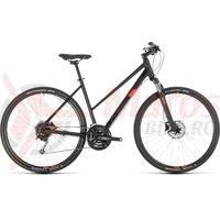 Bicicleta Cube Nature Pro Trapeze Black/Red 2019