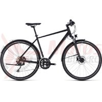 Bicicleta Cube Nature SL Allroad black/grey 2018