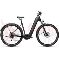 Bicicleta Cube Nuride Hybrid Performance 625 Allroad Easy Entry Black/Novablue 2021