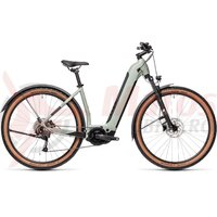 Bicicleta Cube Nuride Hybrid Performance 625 Allroad Easy Entry Lunar/Grey 2021