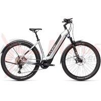 Bicicleta Cube Nuride Hybrid SL 625 Allroad Easy Entry Polarsilver/Black 2021