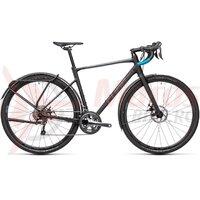 Bicicleta Cube Nuroad Pro Fe Black/Petrol 2021