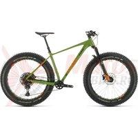 Bicicleta Cube Nutrail Green/Orange 2020