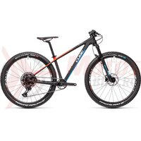 Bicicleta Cube Reaction C:62 Rookie 27.5' Carbon/Blue/Red 2021
