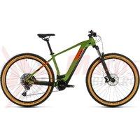 Bicicleta Cube Reaction Hybrid EX 500 29' green/orange 2020