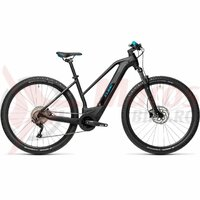 Bicicleta Cube Reaction Hybrid One 500 29' Trapeze Black/Blue 2021