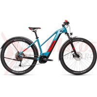 Bicicleta Cube Reaction Hybrid Performance 400 Allroad Trapeze 29' Blue/Red 2021