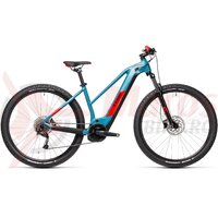 Bicicleta Cube Reaction Hybrid Performance 500 27.5' Trapeze  Blue/Red 2021