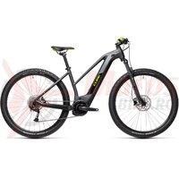 Bicicleta Cube Reaction Hybrid Performance 500 27.5' Trapeze Iridium/Green 2021