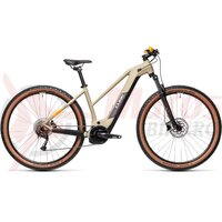 Bicicleta Cube Reaction Hybrid Performance 500 29' Trapeze Desert/Orange 2021