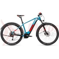 Bicicleta Cube Reaction Hybrid Performance 500 Allroad 27.5' Blue/Red 2021