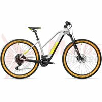 Bicicleta Cube Reaction Hybrid Pro 500 27.5' Trapeze Grey/Yellow 2021