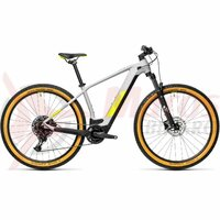Bicicleta Cube Reaction Hybrid Pro 500 29' Grey/Yellow 2021