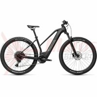 Bicicleta Cube Reaction Hybrid Pro 500 29' Trapeze Black/Grey 2021