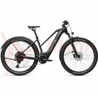 Bicicleta Cube Reaction Hybrid Pro 500 Allroad 29' Trapeze Black/Grey 2021