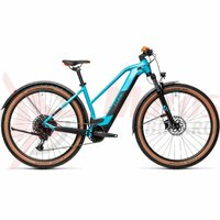 Bicicleta Cube Reaction Hybrid Pro 500 Allroad 29' Trapeze Petrol/Orange 2021