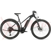 Bicicleta Cube Reaction Hybrid Pro 500 Allroad Trapeze 27.5' iridium/black 2020