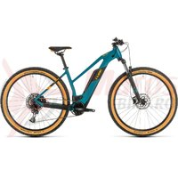 Bicicleta Cube Reaction Hybrid Pro 500 Trapeze 29' pinetree/orange 2020