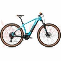 Bicicleta Cube Reaction Hybrid Pro 625 29' Petrol/Orange 2021