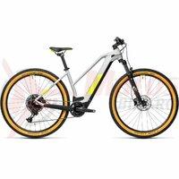 Bicicleta Cube Reaction Hybrid Pro 625 29' Trapeze Grey/Yellow 2021