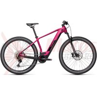 Bicicleta Cube Reaction Hybrid Race 625 29' Berry/Black 2021