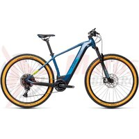 Bicicleta cube Reaction Hybrid SL 625 29' Blue Green 2021