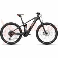 Bicicleta Cube Stereo Hybrid 120 Pro 500 27,5' Black/Red 2021