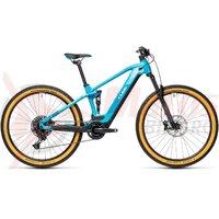 Bicicleta Cube Stereo Hybrid 120 Pro 500 27.5' Petrol/Blue 2021