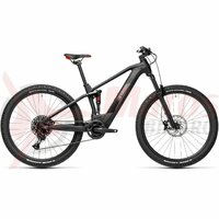 Bicicleta Cube Stereo Hybrid 120 Pro 500 29' Black Red 2021