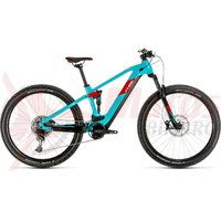 Bicicleta Cube Stereo Hybrid 120 Pro 625 29' petrol/red 2020